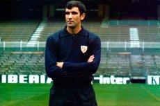 Бывший голкипер сборной Испании Хосе Анхель Ирибар